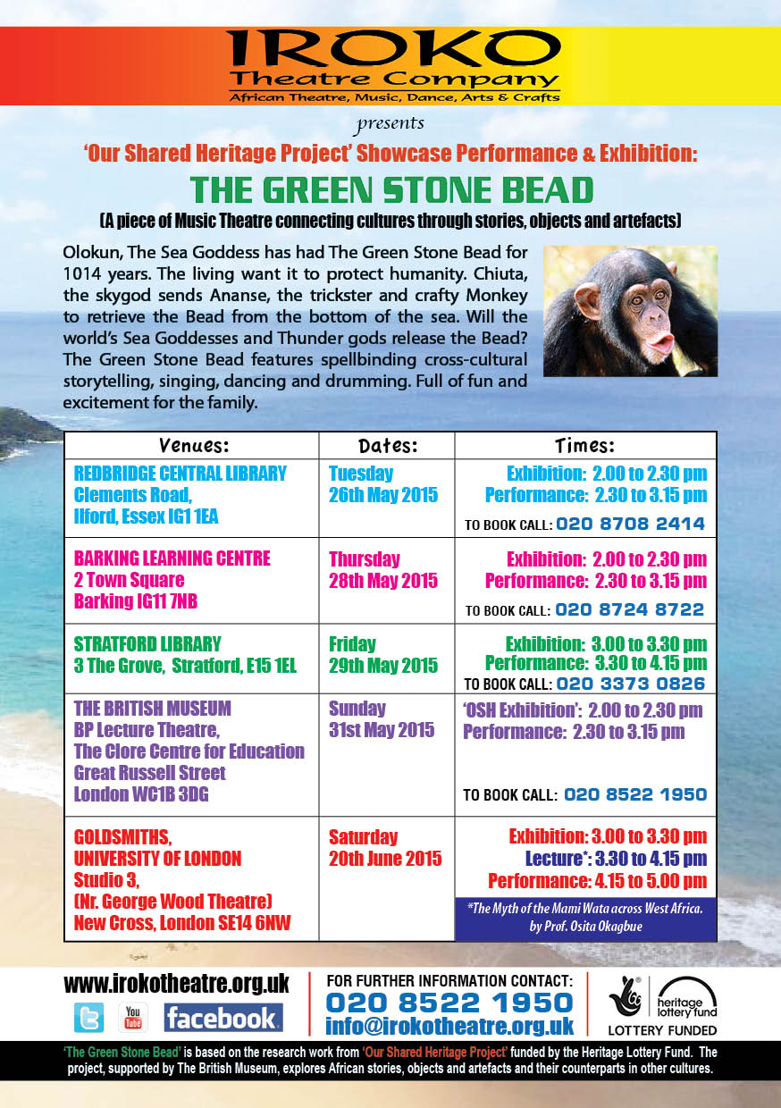 THE GREEN STONE BEAD
